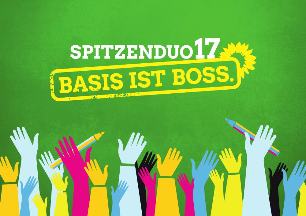 Urwahl für die Spitzenkandidaten 2017 - Jetzt Mitglied werden!